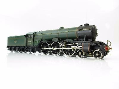 DJH 7mm FINESCALE O GAUGE KIT BUILT BR GREEN 4-6-2 60051 'BLINK BONNY'