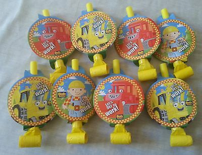 24 Packs Bob The Builder Kids Party Favours Party Blowers Loot Bag Toys Gifts