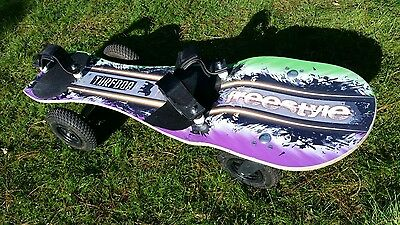 Turfdog freestyle Land Windsurfing board second