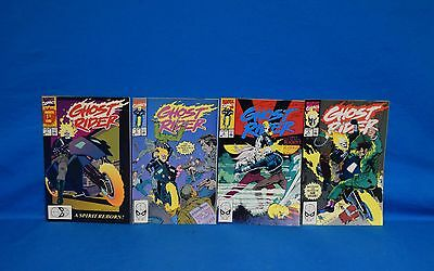 1990 Marvel Ghost Rider #1-4 Comic Books