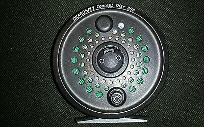 Leeda Dragonfly Concept Disc 395 Fly Reel With 2 Spare Spools