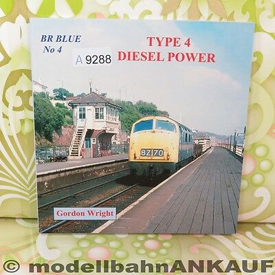 Gordon Wright - BR Blue No. 4 - Type 4 Diesel Power - #A9288-F10