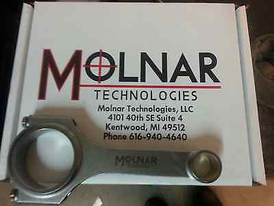 Molnar Technologies H BEAM RODS FOR TURBO LS1 CH6125NLB-LST8-A callies