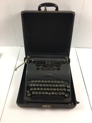 Vintage LC Smith & Corona Standard Typewriter with Carrying Case