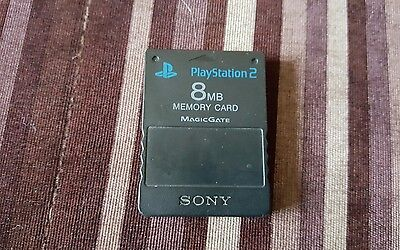 Sony Playstation 2 PS2 official memory card