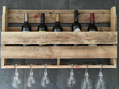 Large Rustic Wine Rack ... New - Using Reclaimed Timber ... Shabby Chic