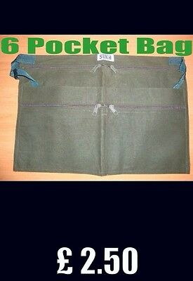Market Trader 6 Pocket Money Bag