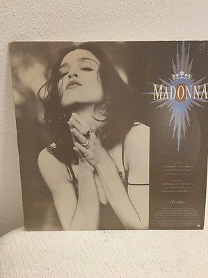 "Madonna Like A Prayer 12""american Promo"