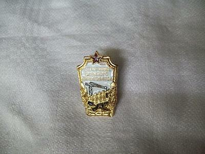 Soviet/Russian Engineers Badge Boxed