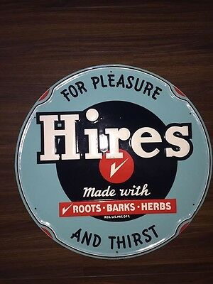 Hires Root Beer Sign