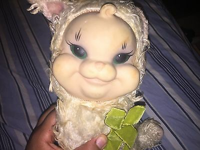 Very Rare!! Vintage Rushton Star Creations Rubber Face Stuffed Cat