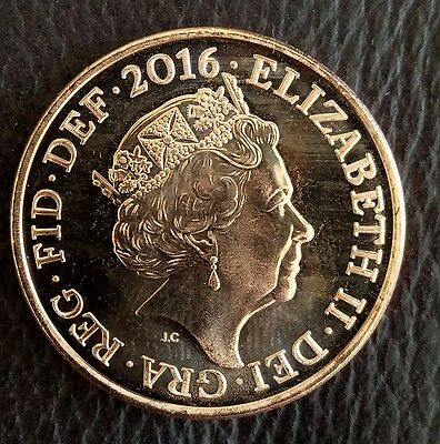 2016 Uncirculated 2p/Two pence British coin, Unc