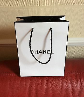 Small Chanel Carrier Bag In VGC 23cm x 18cm