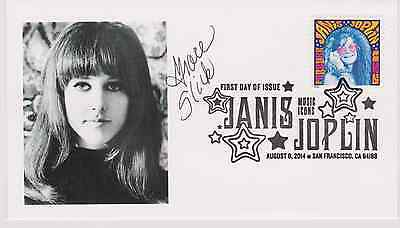 Signed Grace Slick Fdc Autographed First Day Cover Jefferson Airplane Woodstock