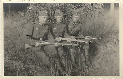 ww2 GRANDE PHOTO SOLDATS  militaria  allemand wwii german foto