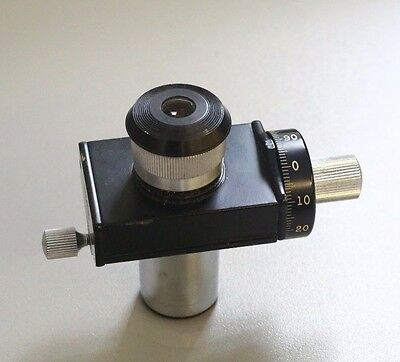 BAUSCH & LOMB 10 DIVISION  Micrometer Ocular (EYEPIECE) for Microscope