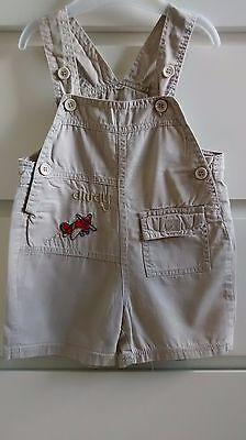Baby Boy's Dungaree Shorts 6-12 months