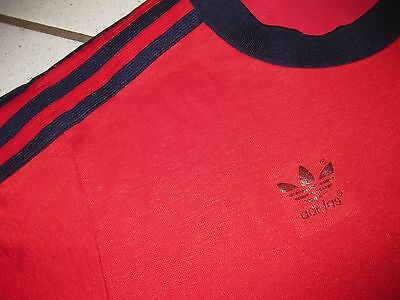 Vintage Adidas Trikot D5/6 (M) Shirt Maillot Jersey 80s Made in West Germany RAR