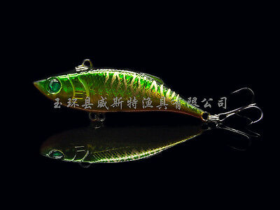 7.5cm/10g 1pc/lots Hard Long Minnow Fishing Lures Crankbaits Baits Hooks Tackle
