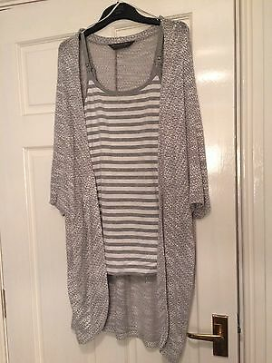Booming Marvellous Maternity Cardigan And Too