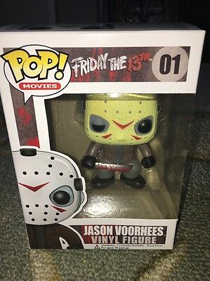 Jason Voorhees Friday The 13th Horror Funko Pop Exclusive HTF Vinyl Figure