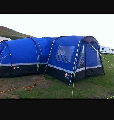 zenobia 6 tent with porch and carpet
