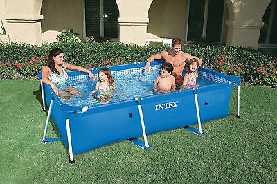 Garden Family Swimming Pool Frame Above Ground Outdoor Paddling Water Summer