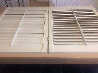 joblot of Brand new plantation shutters, and frames  mixed sizes and colours