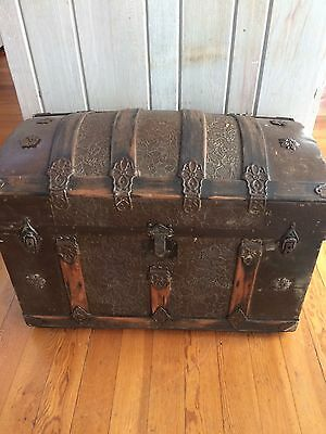 Antique Trunk Pirates Chest