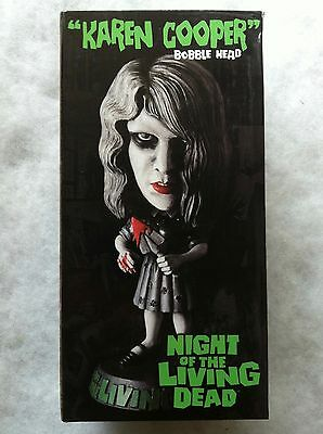 """Night Of The Living Dead """"karen Cooper"""" Limited Edition Numbered Bobble-Head New"""