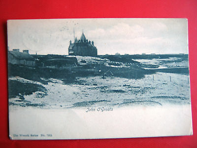 Old Postcard-  John O'groats ,scotland Posted 1910