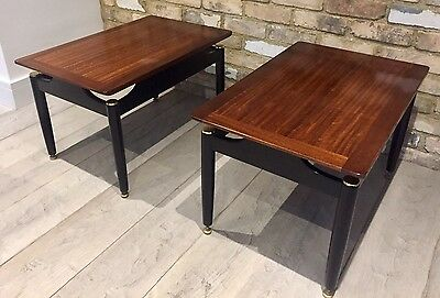 Pair of G Plan 1950's Vintage E Gomme 'Librenza' Coffee Tables