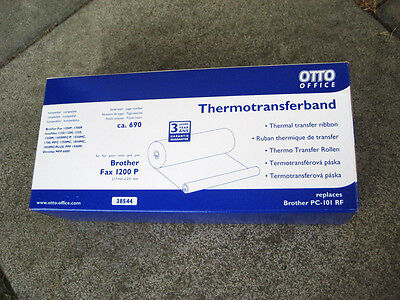 Otto Thermotransferband Brother Fax 1200P 1700P Intellifax Omnifax