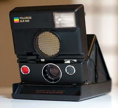 Polaroid SLR 680 Great Shape w/Box Ready for New Covering and Impossible Film