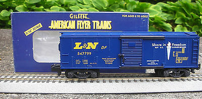 MVT - RARE American Flyer #48213 1999 TCA Museum L&N Boxcar EXCELLENT CONDITION