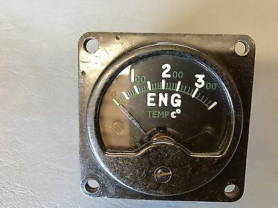 RAF Avro Vulcan Cockpit Engine Temp Gauge