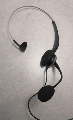 Jabra GN2120 NC (Noise-Canceling) Headset with GN1200 QD to Mod Plug cable