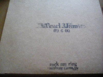 Official Bootleg Pearl Jam 2 Disc CD Live Nurburg Germany 2000 Tour Gig