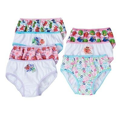 PJ Masks Toddler Girls Panties Underwear 7, 14 or 21 pack Size 2T-3T, 4T