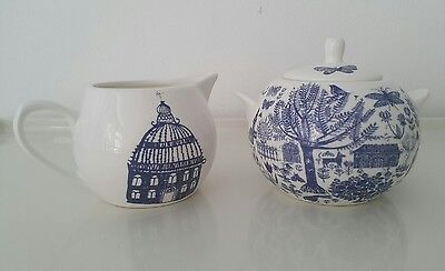 BRAND NEW! Lovely English Sugar Bowl and Milk Jug