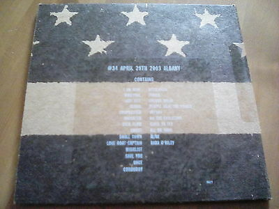 Official Bootleg Pearl Jam Albany 2 Disc CD Live 2003 Tour Gig