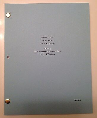 HAWAII FIVE-0 TV SHOW Script Pilot Great Keepsake, Color Cover, 63 Pages