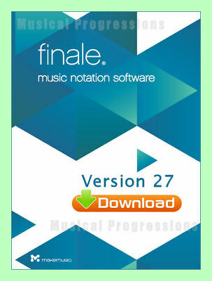 FINALE 25.4 COMPETITIVE TRADE  DIGITAL - MUSIC NOTATION SOFTWARE 25 .4 MakeMusic
