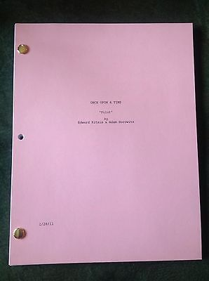 Once Upon A Time ABC STOCK COVER Script Pilot Episode 1/28/2011 LANA PARRILLA