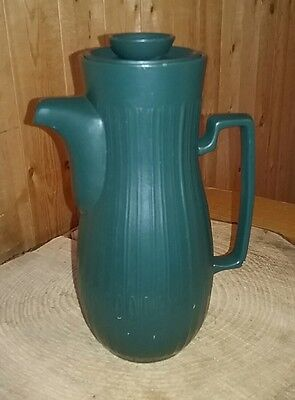 Red Wing Hearthstone Pattern Vintage Coffee Pot / Beverage Server