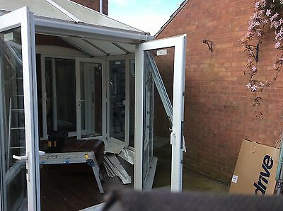 Conservatory,   Upvc  full height ,dismantled, excellent condition