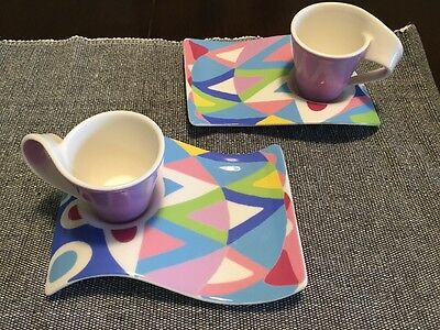Villeroy And Boch Small Cup And Saucer New Wave