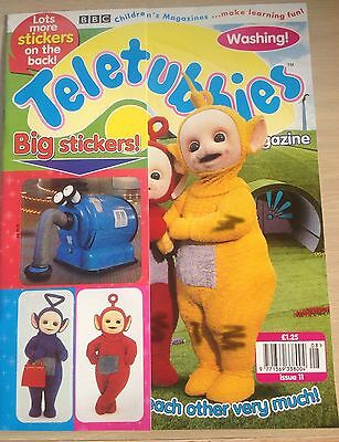 Vintage Teletubbies magazine.  Issue 11 1998  Immaculate. Big stickers as gift.