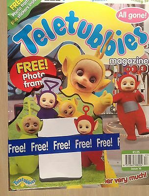 Vintage Teletubbies magazine.  Issue 16 1998  Immaculate. Photo Album