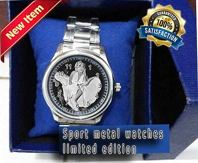 Nice Marilyn Monroe Stainless Steel (Sport) Metal Watch best men's quality